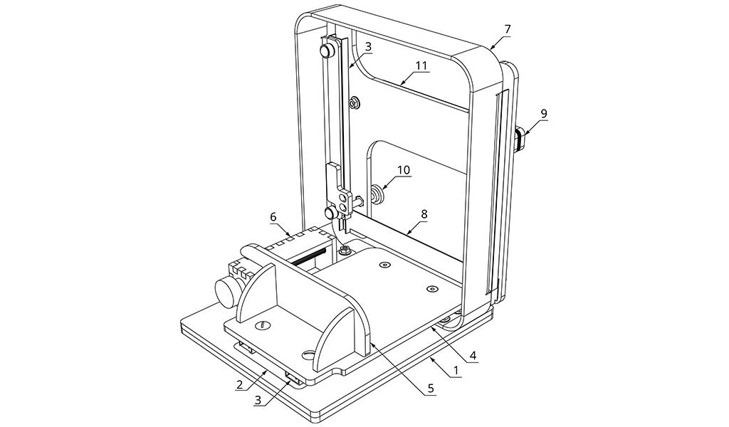 LC Slicer - basic parts