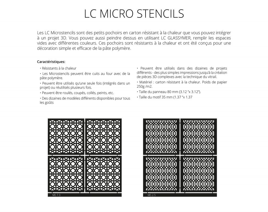 LC Microstencils french