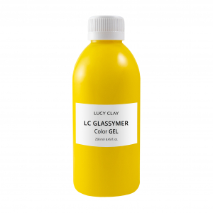 LC Glassymer - Color GEL - Yellow - 250 ml / 8.45fl.oz.